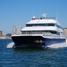 Return Fast Ferry - From Boston to