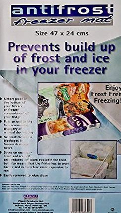 Caraselle Anti Frost Freezer Mat for Frost Free Freezing. 47 x 24 cms from Caraselle