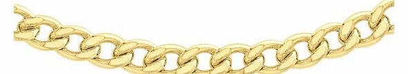 Carissima 9ct Yellow Gold Curb Chain 25cm/22``