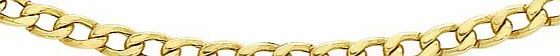 Carissima 9ct Yellow Gold Curb Chain 61cm/24``