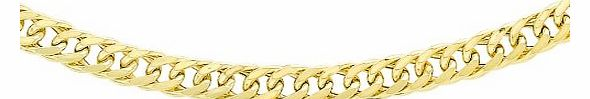 Carissima 9ct Yellow Gold Triple Curb Chain 46cm/18``