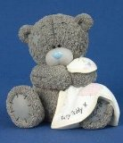 Me To You Nursery Money Box Bear N Blanket