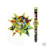 Ben 10 On Time Gift Set Alarm Clock and Digital Watch