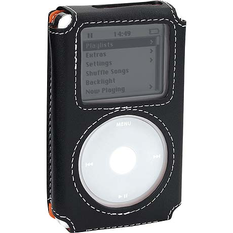 Case Logic Ipod G4 Black leather case IC42GB