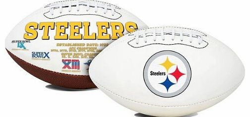 Pittsburgh Steelers Signature Series Full Size NFL Football