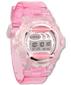 Baby G Aqua Pink Illuminator Watch