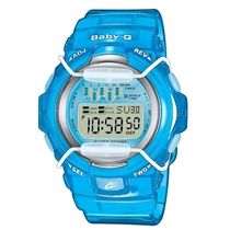 Baby-G Womens Watch Blue