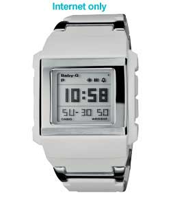 Ladies Baby G Auto Zoom Display Watch