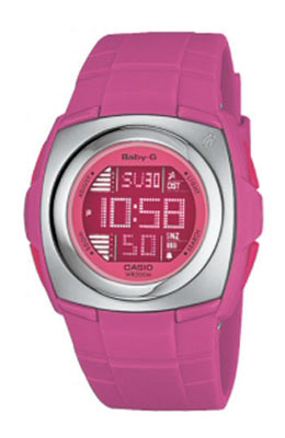 Ladies Baby G Pink Watch BG 1220 4AVER
