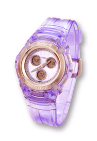Ladies Baby-G Watch Lilac BG191/6BVER