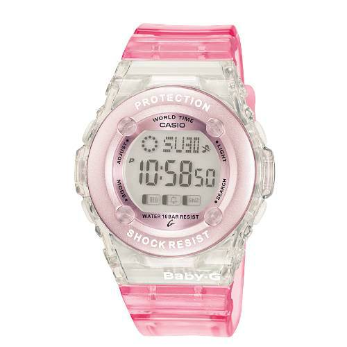 Ladies Baby G Watch World Time BG 1302 4ER