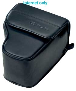 casio Leather Case For EX-51 - Black