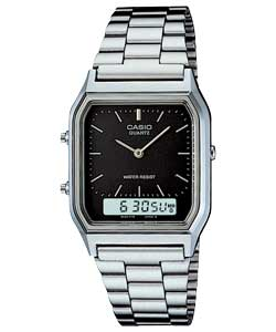 Casio Mens Dual Time Watch