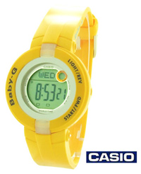 Mini Yellow Baby-G Watch BG-1200
