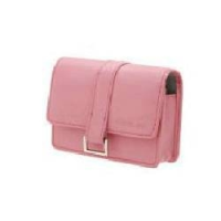 Casio Pink Leather case for EXILIM CARD and ZOOM