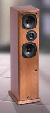 Conway 3 Floorstanding Speakers Antique Oak