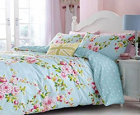 Catherine Lansfield Canterbury Duvet Cover Bedding Set King - Multi
