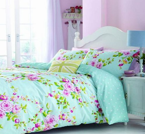 Catherine Lansfield Canterbury Multi Double Duvet Set
