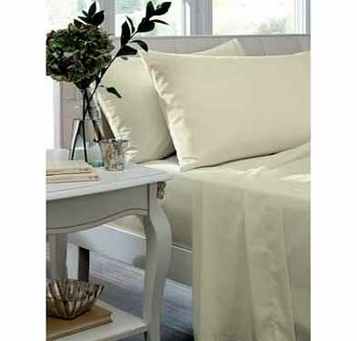 Catherine Lansfield Housewife Pillowcase - Cream