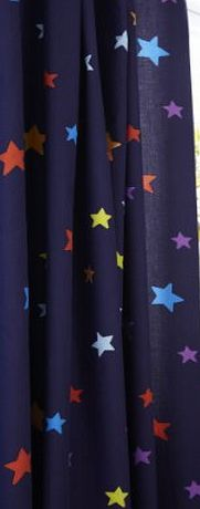 Catherine Lansfield Kids Outer Space Curtains - Multi