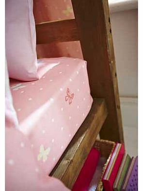 Catherine Lansfield Pony Pink Fitted Sheet - Single