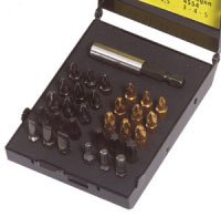 Ck 30 Piece Mixed Hex - Pozi - Phillips - Slotted - Torx Driver Bit Set