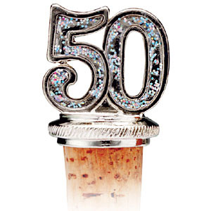 50th Bottle Stopper