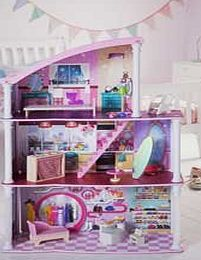 Chad Valley 2-In-1 City Living Dolls House.