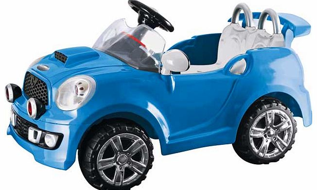6V Blue Cabriolet Powered Vehicle