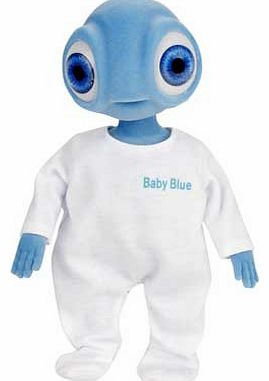 Argos Alien Doll - Baby Blue