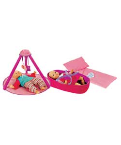 Babies To Love Playgym and Moses Basket