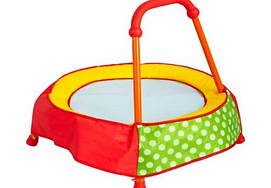 Chad Valley Toddler Trampoline - Green