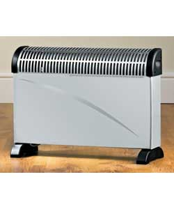 Challenge Convector Heater Silver 2kW