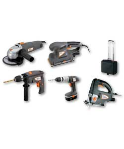Xtreme 5 Piece Combination Power Tool Kit
