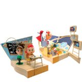 Atomic Betty 2 in 1 Transforming Playset (Classroom,Star Cruiser)