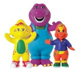 Barney - Collectables In Tube - Barney, Riff, BJ