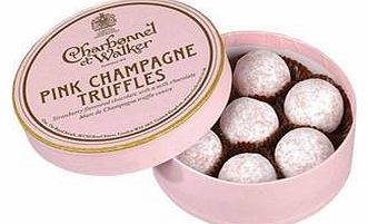 Pink Marc de Champagne Luxury Chocolate Truffles x 8