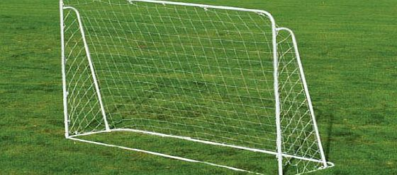 Charles Bentley 7Ft X 5Ft Childrens Kids Metal Football Hockey Goal Posts Net