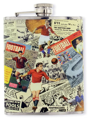 Buchans Football Monthly - Hip Flask