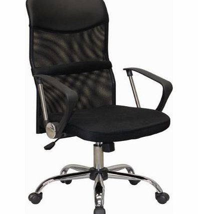 Charles Jacobs MESH LUXURY EXECUTIVE COMFORTABLE OFFICE CHAIR in BLACK with High Back, new 2013 BUSINESS ERGONOMIC DESIGN  TILT MECHANISM