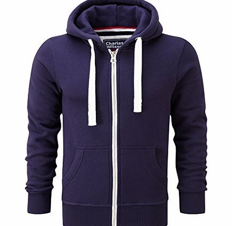 Charles Wilson Premium Cotton Hoody (X-Large, Purple)