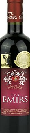 Chateau St Thomas Cuvee Les Emirs Rouge 2010 75cl, Lebanese Fine Reserved Red Wines