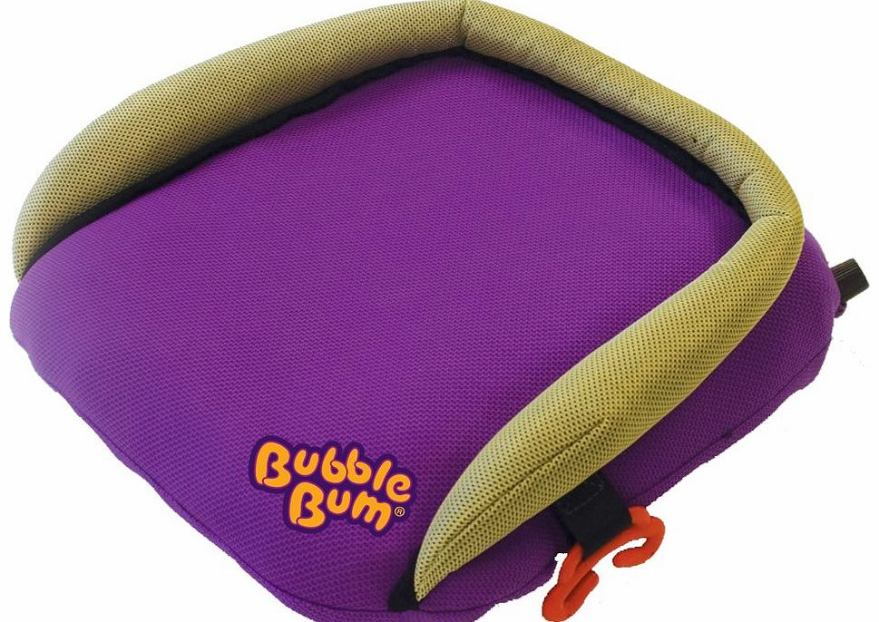 Bubblebum Booster Seat Purple 2014