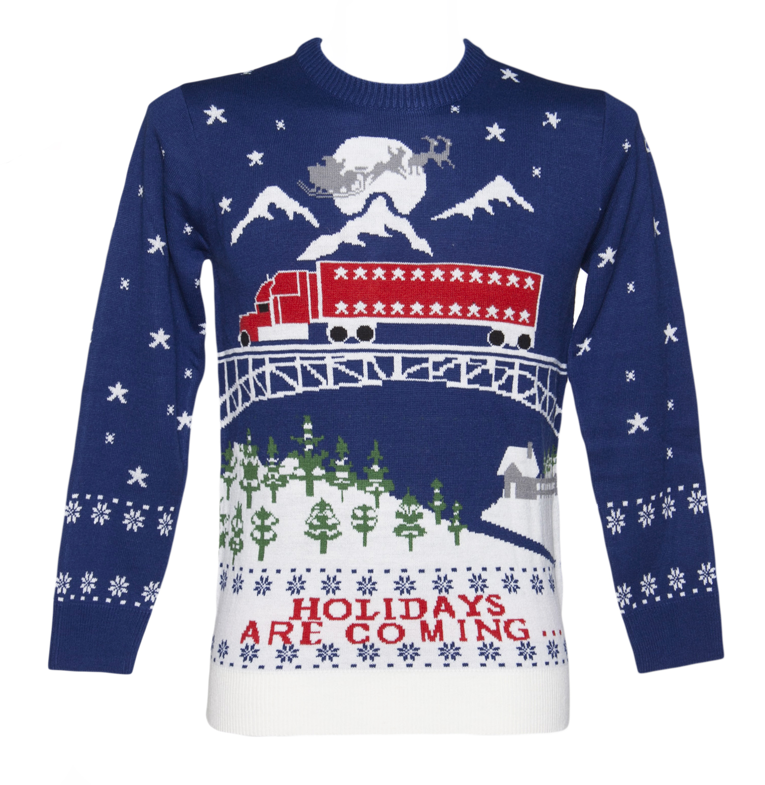 Unisex Holidays Are Coming Christmas Jumper from