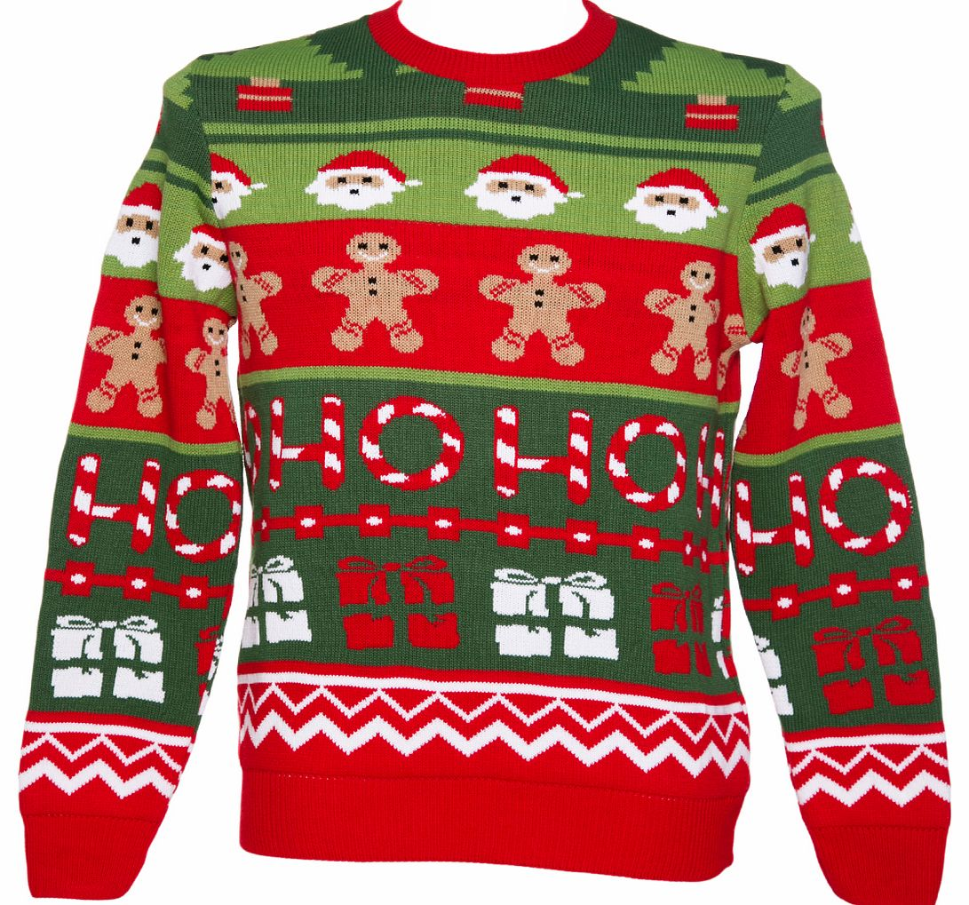 Unisex Retro Santas Workshop Christmas Jumper