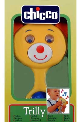 Activity Teddy Rattle