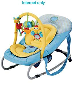 chicco Relax and Play Bouncer - Charcoal