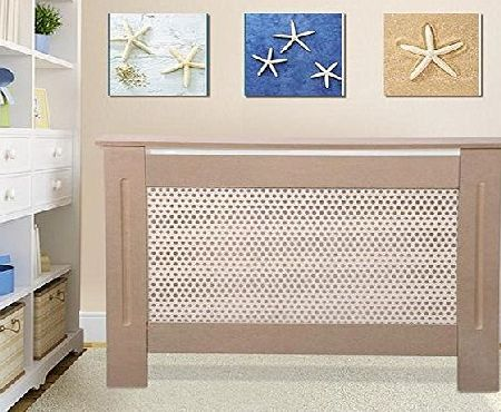 chinkyboo Radiator Cover Cabinet Classic Design Unpainted MDF Finish Hide Radiators (Small/Medium)