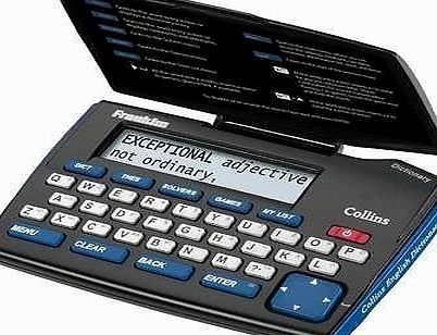 ChoicefullBargain NEW FRANKLIN DMQ221 COLLINS ENGLISH DICTIONARY EXPRESS EDITION WITH THESAURUS