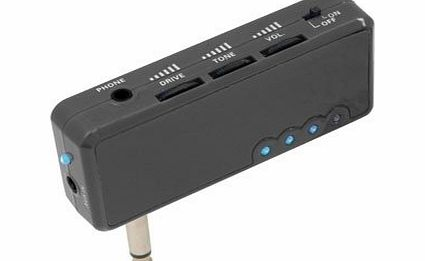 Chord Portable Compact Ampjack Headphone Amplifier For Guitar Rechargeable 3.5MM AUX